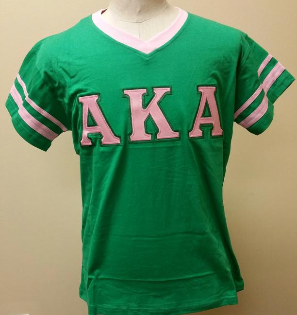V Neck Greek Letter Shirts