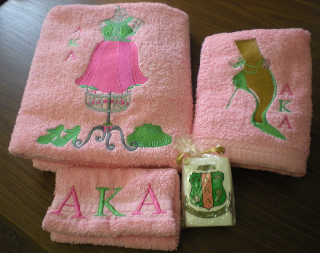 aka decorative bath towel set 6 ms