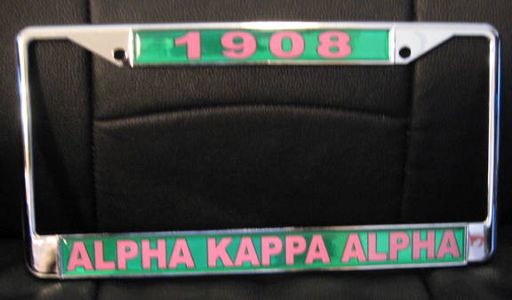 Alpha Kappa Alpha Sorority Auto Accessories