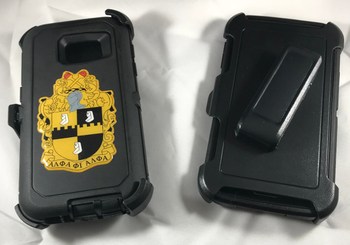 Alpha S7 Phone cover with clip