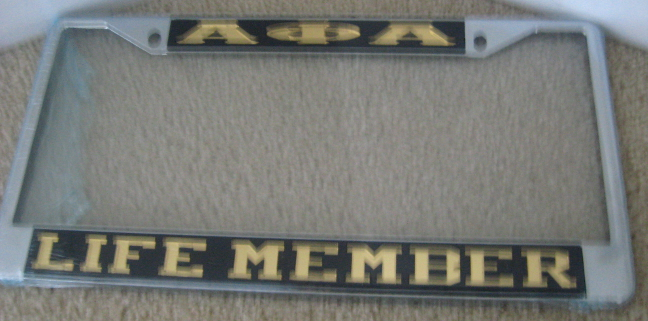 Alpha_Life_Member_License_Frame