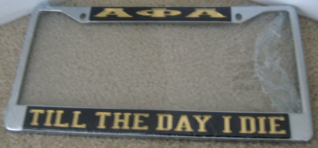Alpha_Till_The_Day_I_Die_License_Plate
