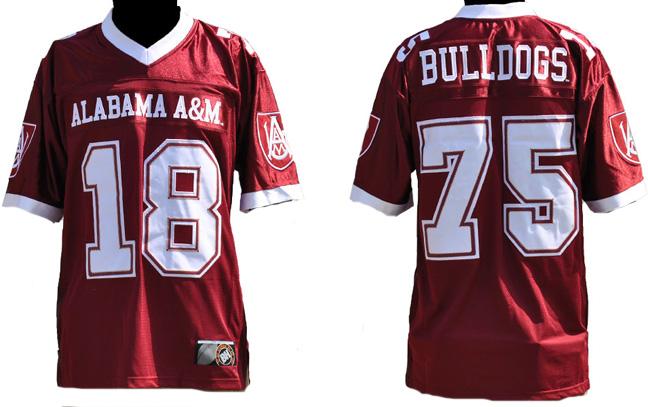 Alabama Am University Football Jersey