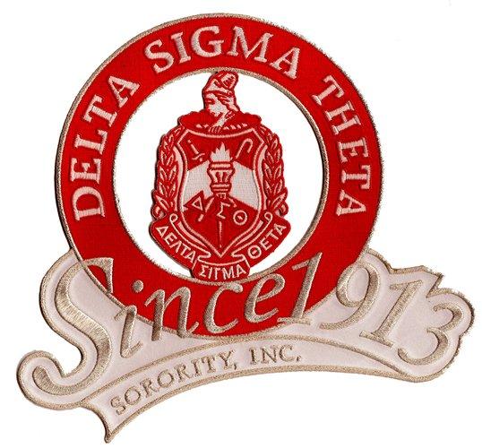 DELTA Shield Since 1913 PatchDelta Sigma Theta Elephant Logo