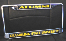 Grambling_Alumni_License_Frame_small