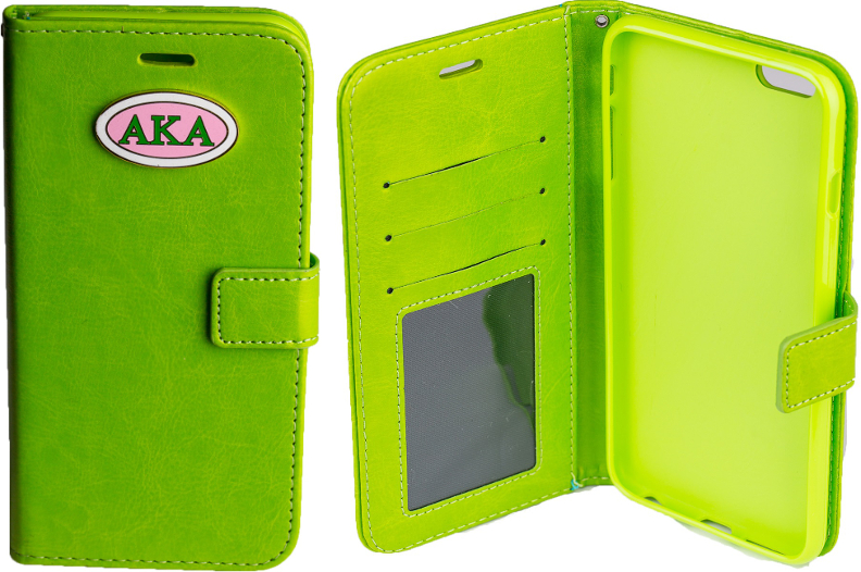 Green IPhone 6 and 6Plus Wallet - GT