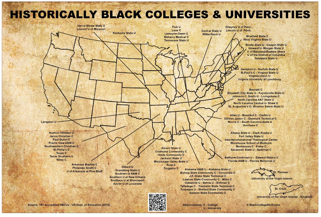 List Of Black Colleges 3