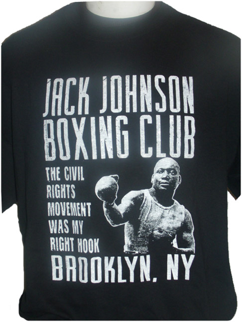 Jack Johnson Boxing Club Tee $29.95. Click on image for larger view and details