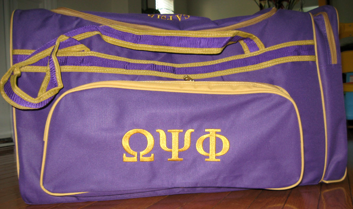 Omega Psi Phi Centennial Duffle Bag 2944 Hbcu Connect