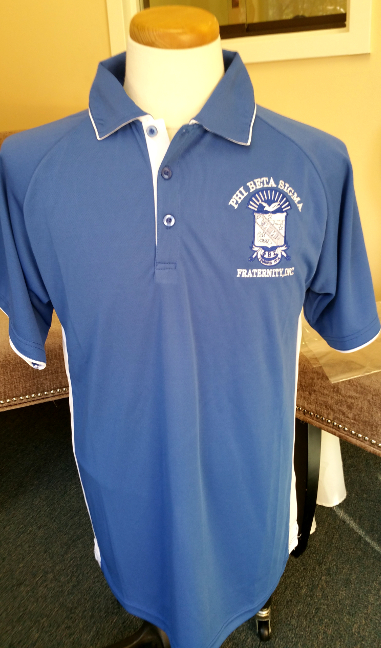 Phi Beta Sigma Dri-fit Polo