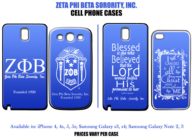 Zeta Phi Beta iPhone u0026 Samsung Galaxy Cases