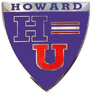 Howard University Sports Chrome Car Emblem