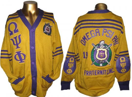 Omega Psi Phi Fraternity Sweaters Page 1 Of 1