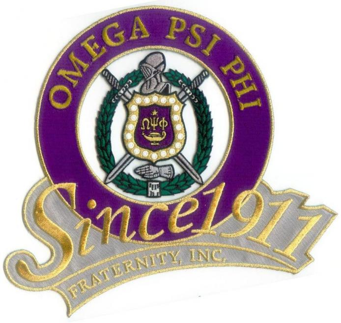 Omega Psi Phi Fraternity Patches Iron On Or Sew On Page 1 Of 1