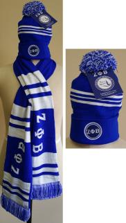 Zeta Scarf Skull Cap Set March 2016