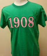 AKA T Shirt 1908 Short Sleeve Green.jpg