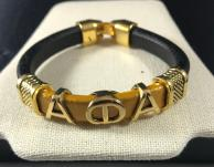 Alpha Leather Bracelet