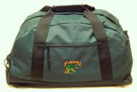 FAMU Gym Bag Green front view.jpg
