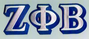 ZETA patch letters XLsmall